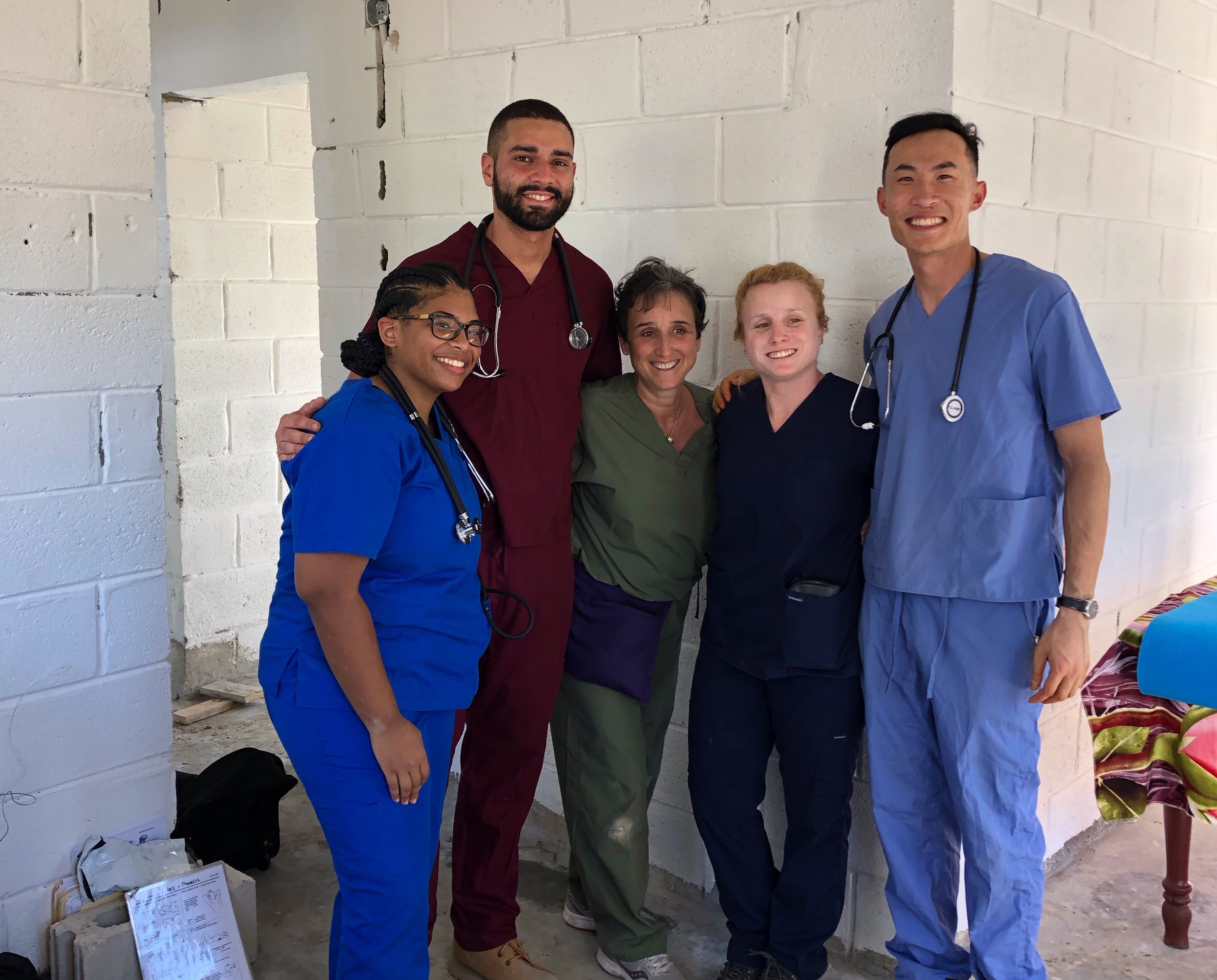 DPT students on service learning trip to the Dominican Republic