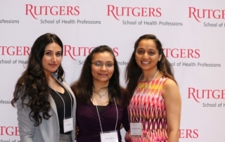Three student Research Day Winners