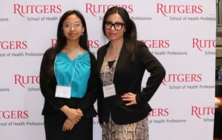Two student Research Day Winners