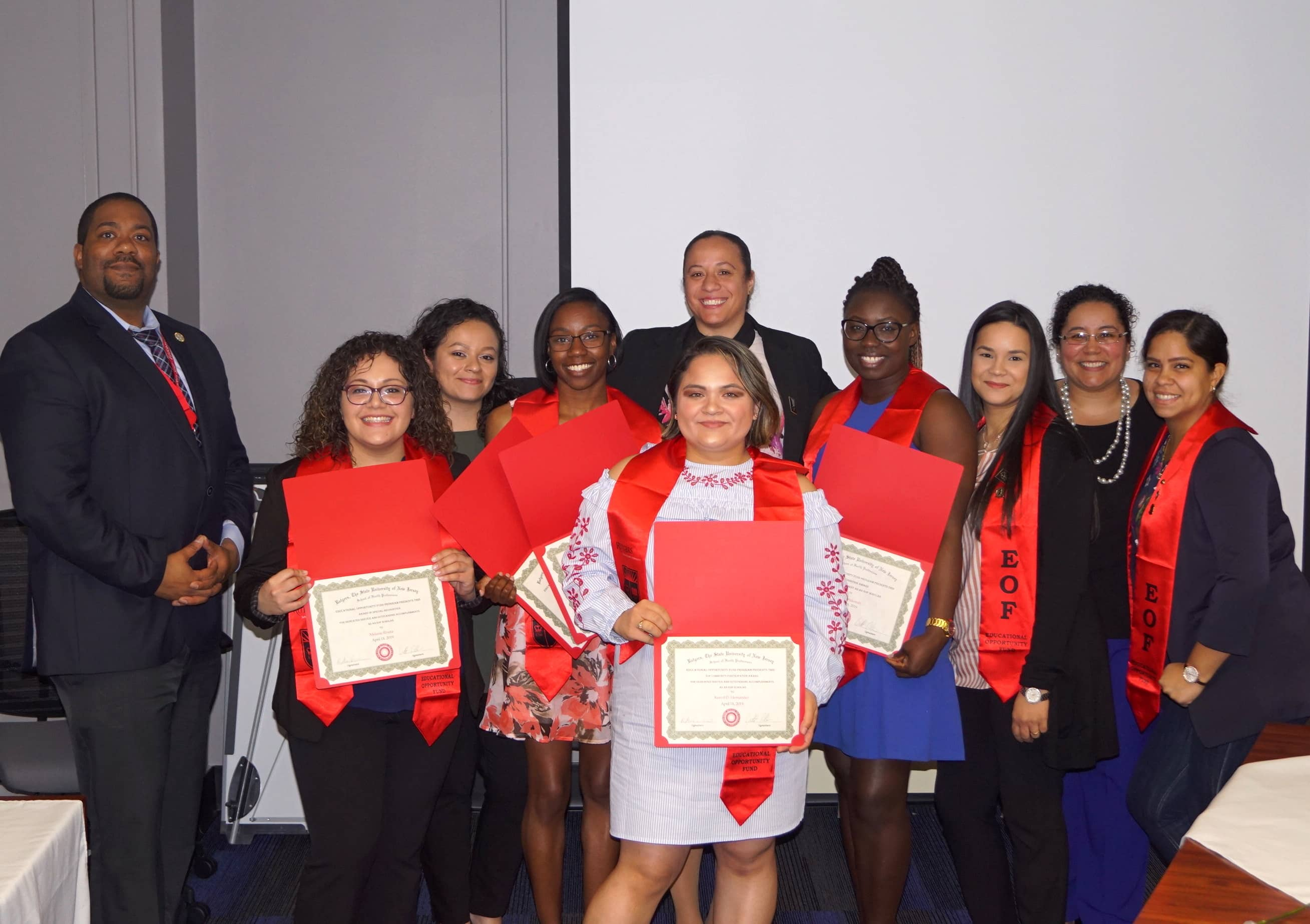 EOF Awards recipients 2019