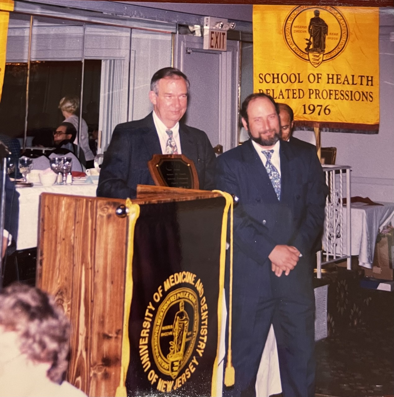 Image of Dave Gibson at a podium