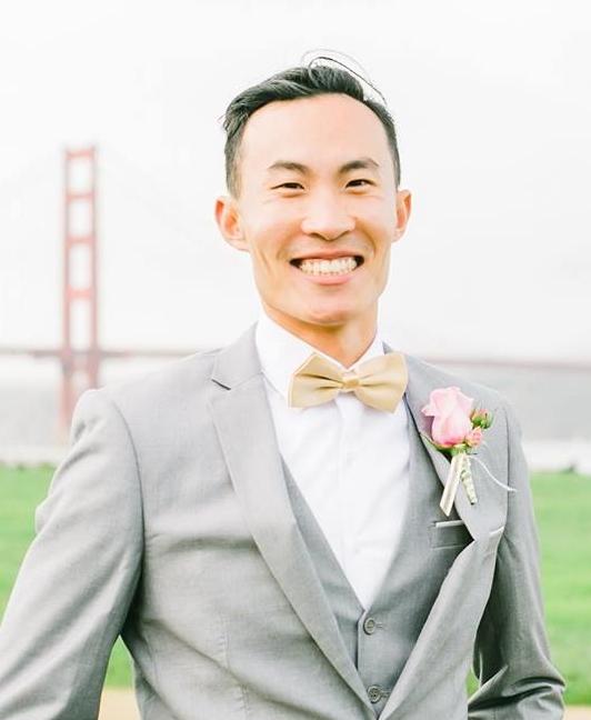 Scholarship recipient David Lin