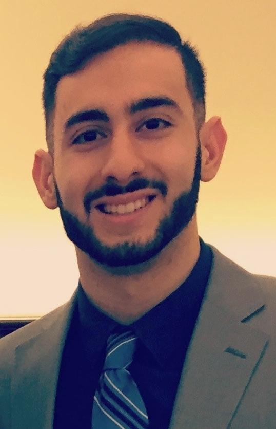 Scholarship recipient Sami Jamil