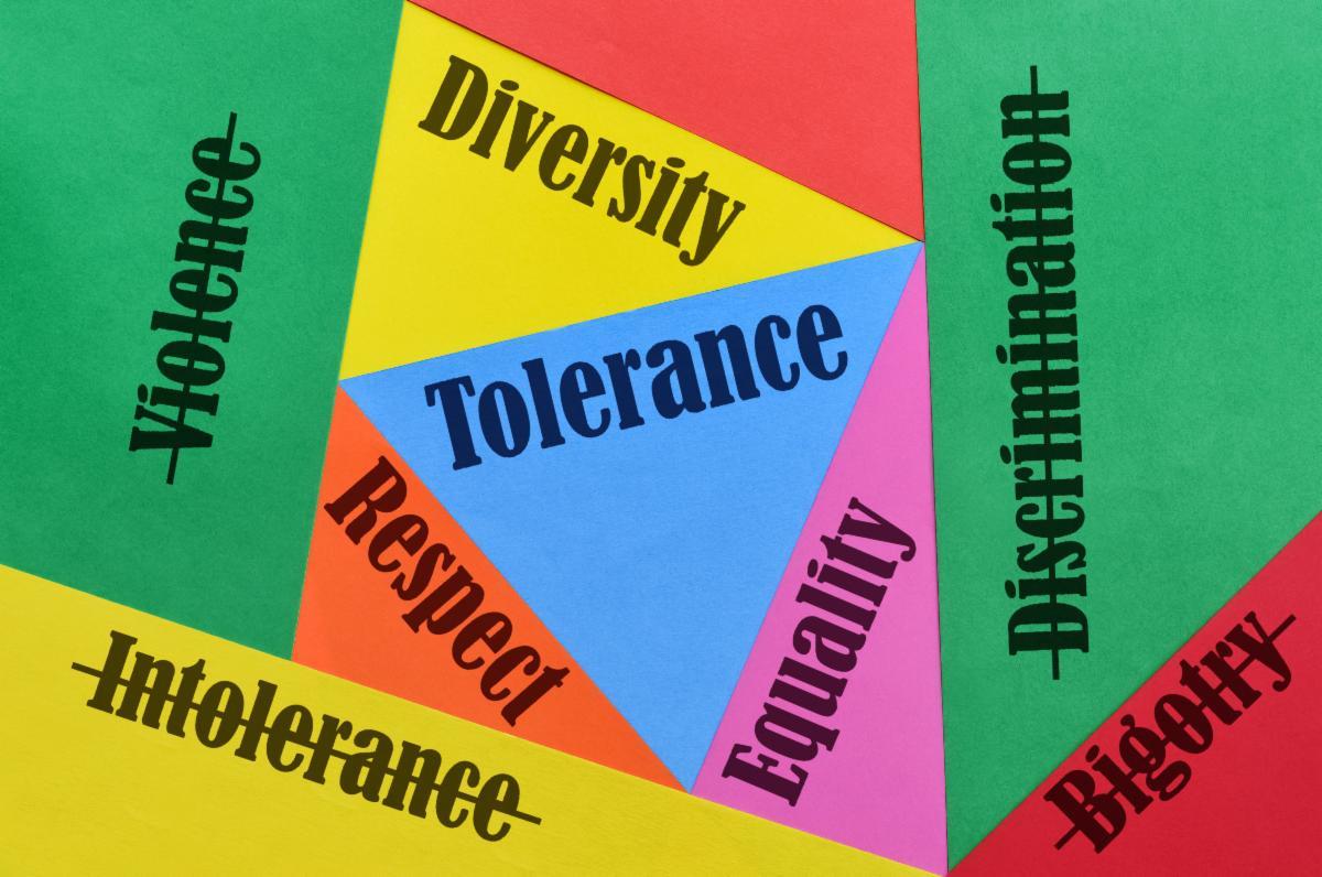 Word cloud diversity tolerance