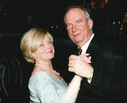 Image of Dave Gibson and his wife